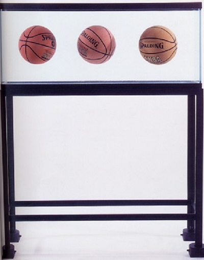 Jeff Koons-Three Ball Total Equilibrium Tank-1986