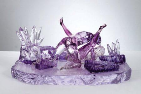 Jeff Koons-Violet-Ice (Kama Sutra)-1991