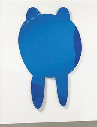 Jeff Koons-Walrus (Blue)-1999