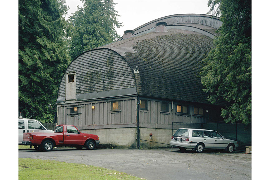 Jeff Wall - Rear View, Open Air Theatre, Vancouver