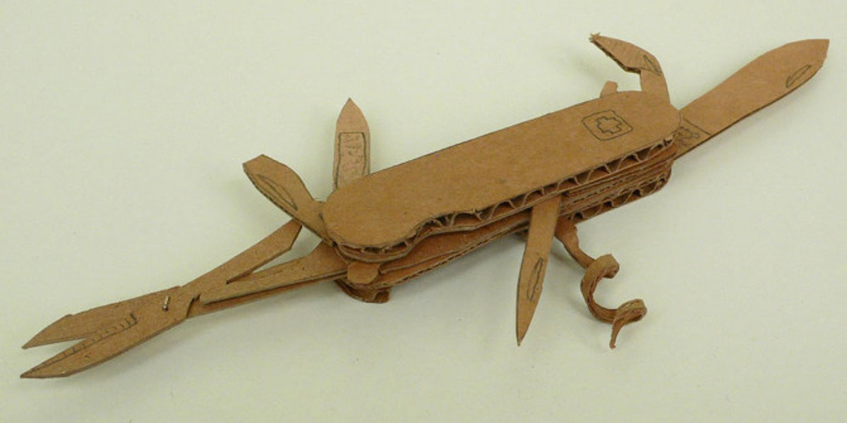 Jeremiah Jenkins - Survival Knife, 2009 - photo credits of the artist
