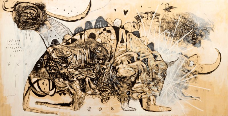 neo-primitivism, outsider art series, Jesse Reno