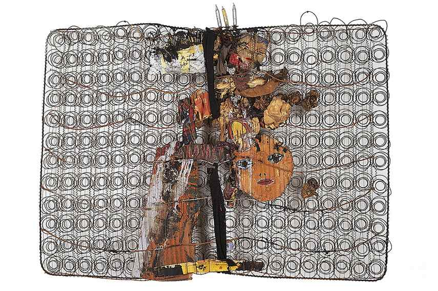 Jim Dine – Bedspring, 1960 neo new use expressionism contact