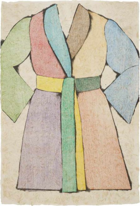Jim Dine-The Woodcut Bathrobe-1975