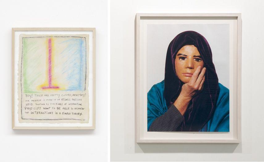 Science II, 1990, Self Portrait pretending to be Maria Thereza Alvez, 1995, 2006