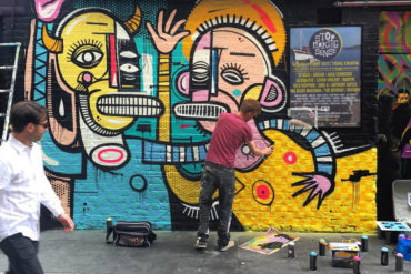 Underground Graffiti Show in London Comes Back with GraffitiStreet Gallery