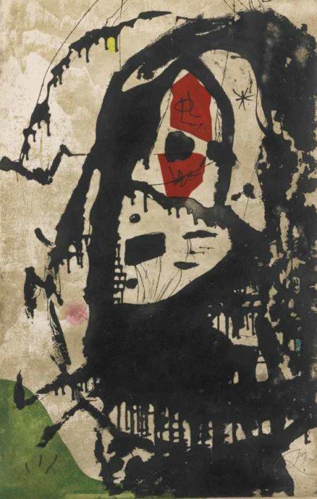 Joan Miro-Els Gossos VI-1979