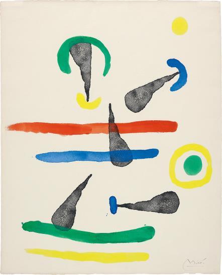 Joan Miro-Femmes (Women)-1965