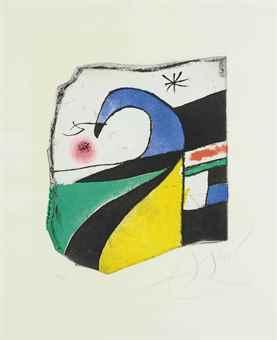 Joan Miro-Gaudi X-1979