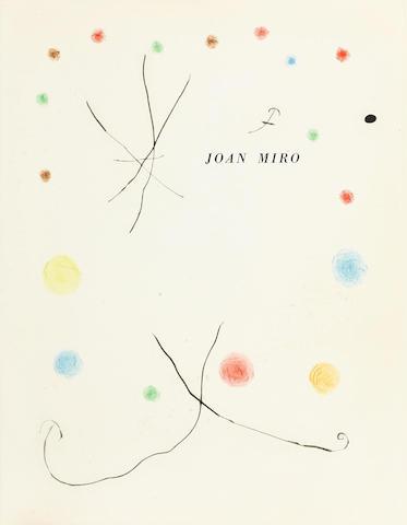 Joan Miro-Heraclitus of Ephesus-1956