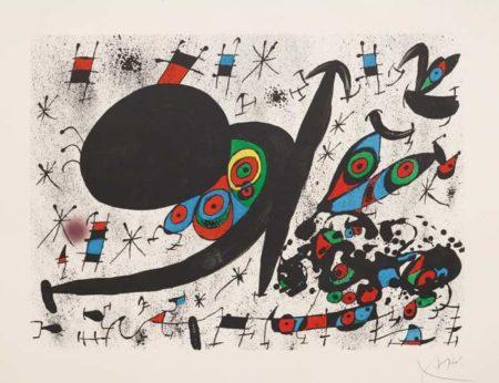 Joan Miro-Homenatge a Joan Prats: plate 12-1971