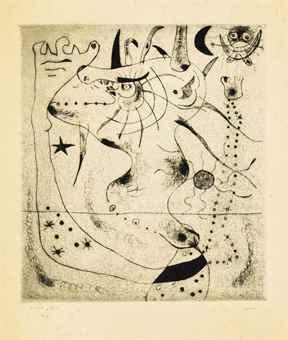 Joan Miro-L'Eveil du Geant-1938