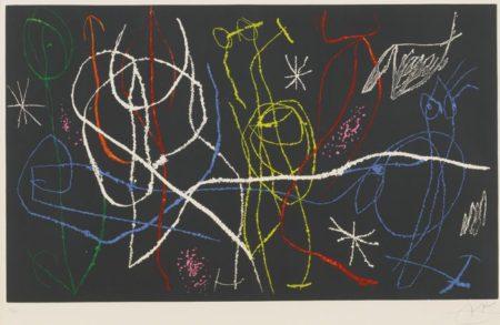 Joan Miro-L'Invitee Du Dimanche III-1969