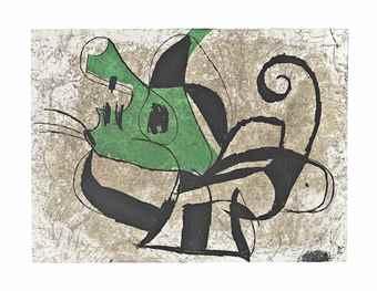 Joan Miro-La Commedia dell' Arte I-1979