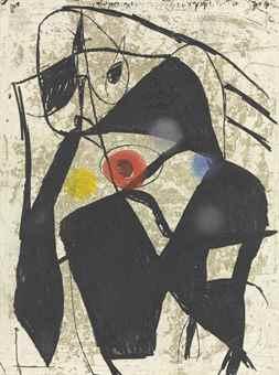 Joan Miro-La Commedia dell' Arte II-1979
