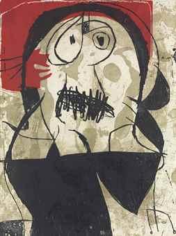 Joan Miro-La Commedia dell' arte VII-1979
