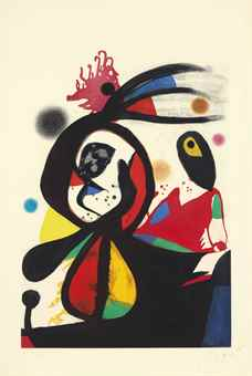 Joan Miro-La Femme Arborescente-1974