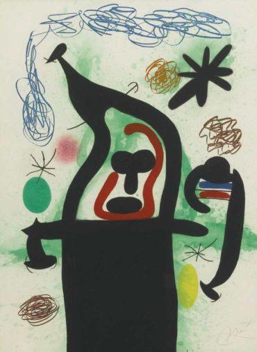 Joan Miro-La Harpie-1969