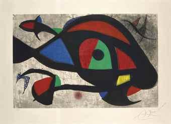 Joan Miro-Le Beluga-1975