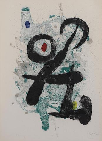 Joan Miro-Le Faune-1963