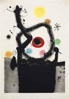 Joan Miro-Le Rebelle-1967