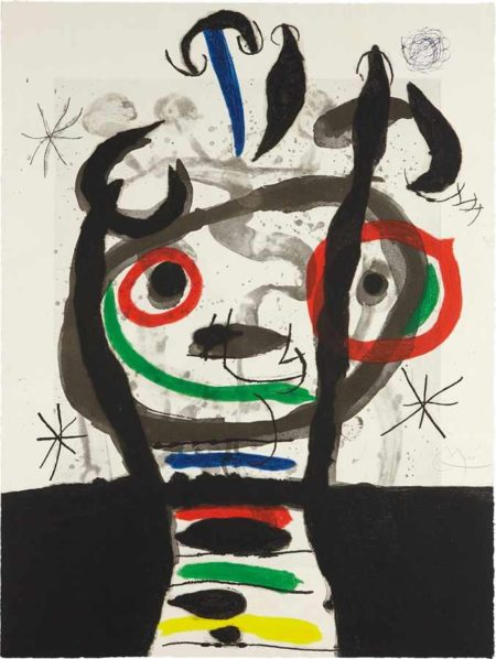 Joan Miro-Le grand sorcier (The Great Wizard)-1968