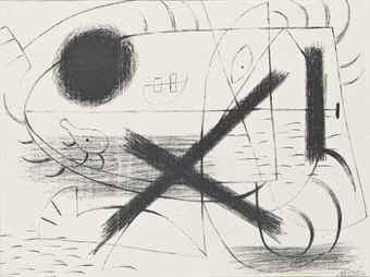 Joan Miro-Lithograph I-1930
