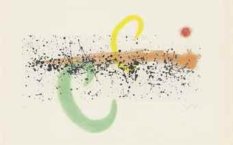 Joan Miro-Lune et Vent-1963