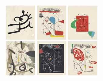 Joan Miro-Miquel Costa i Llobera: El Pi de Formentor-1976