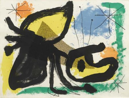 Joan Miro-Pl. 2 from Album 19-1961