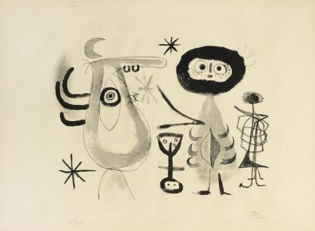 Joan Miro-Pl. 6 , from Album 13-1948