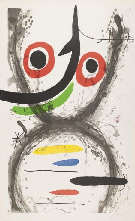 Joan Miro-Prise A L'Hamecon-1969