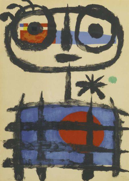 Joan Miro-Sun Eater-1955