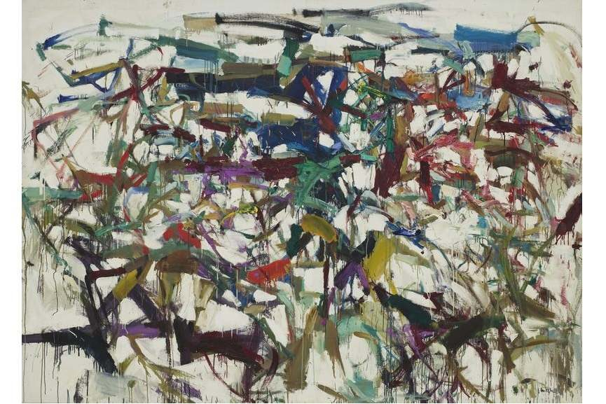 abstract women artists like lee krasner and grace denver created painting work in expressionism