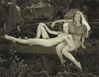 Jock Sturges-Misty Dawn and Christina, Northern California-1996