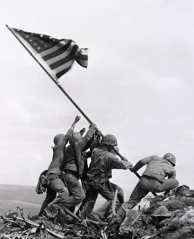 Joe Rosenthal-Flag Raising at Iwo Jima-1945
