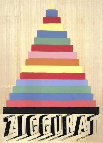 Joe Tilson-Ziggurat-1975