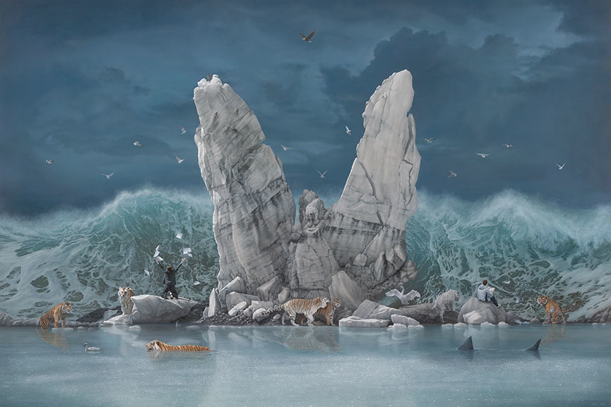Jonathan LeVine Gallery joel rea exhibition