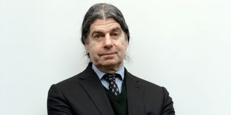 John Armleder - Photo of the artist - Image via Pier Marco Tacca