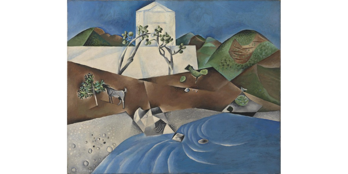 John Craxton - Hotel by the Sea, 1946 - Tate Collection