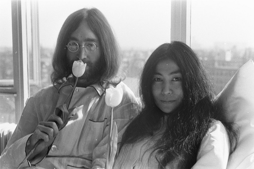 1964 exhibitions John Lennon and Yoko Ono