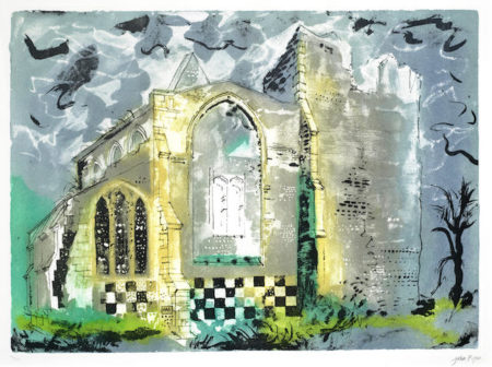 John Piper-Little Cressingham, Norfolk-1984