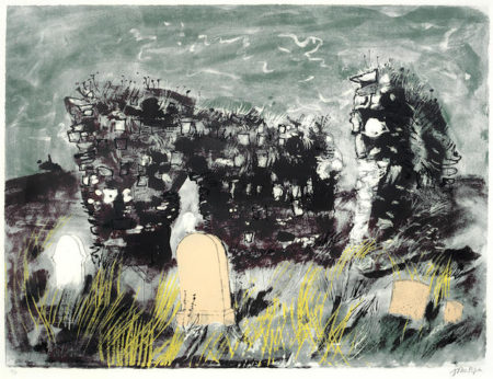 John Piper-Ruined Chapel, Isle of Mull-1975