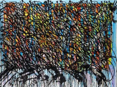 JonOne-Le Colours Du Bernard Buffet-2008