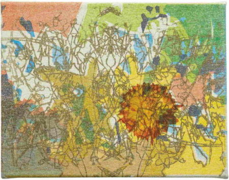 Jorge Pardo-Untitled Canvas #20-2006