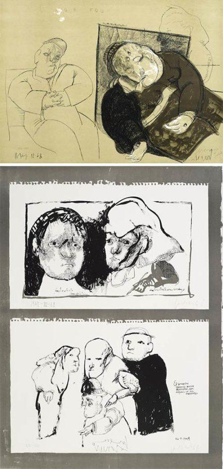 Jose Luis Cuevas-Crime by Cuevas-1968