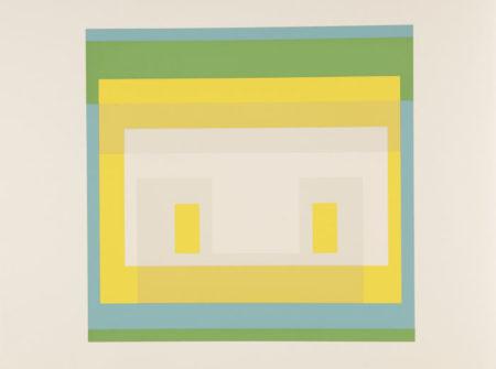 Josef Albers-Formulation: Articulation (Danilowitz Appendix C)-1972