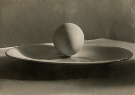 Josef Sudek-Egg on Plate-1955