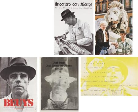 Joseph Beuys-Group of seven posters-1974