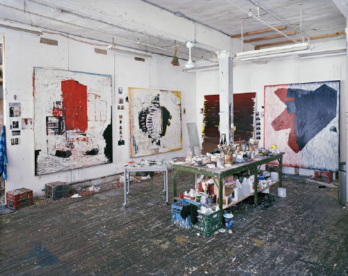 Joseph Hartman - Artist Studios, John Brown, 2013 - Image Copyright  by Joseph Hartman, Courtesy of Stephen Bulger Gallery